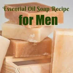 Essential Oil Soap Recipe for Men One of my favorite things to gift people for Christmas or thank-you presents is handmade soap. While there are tons of complicated recipes for soap using real lye out there, I like using pre-made soap bases and adding the Diy Parfum, Fragrance Parfum, Fragrances, Diy Savon, Savon Soap, Soap Making Recipes, Homemade Soap Recipes, Handmade Soaps, Doterra Essential Oils