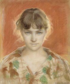 Artwork by Finnish painter, Albert Gustaf Aristides Edelfelt Social Art, Hyperrealism, Photorealism, Art Studies, Portraits, Art Techniques, Great Artists, Female Art, Art Images