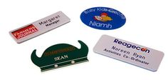 We provide high quality of Corporate Badges, magnetic name badges, name tags and name badges to promote you identity in Ireland market. Call us today at 1890 333 444 for design your name tags.
