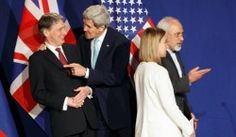 Obama, Allies Hail Iran Nuclear Deal as Critics Slam Concessions.  (Personally I would love to slam some people in our government because they are stupid.)