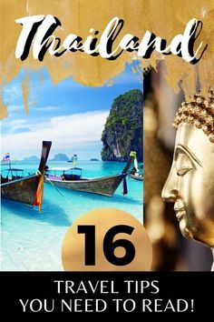 Planning to travel to Thailand? Here are 16 Things to Know Before Visiting Thailand I things to do in Thailand I places to go in Thailand I what to do in Thailand I Thailand destinations I visit Thailand I where to go in Thailand I Thailand travel I Southeast Asia travel I travel tips for Thailand I Thailand travel tips I Thailand travel advice I information on travel in Thailand I #Thailand #travelguide #traveltips–By Wandering Wheatleys via @wanderingwheatleys Thailand Destinations, Thailand Travel Guide, Visit Thailand, Asia Travel, Travel Destinations, Travel Advice, Travel Guides, Cool Places To Visit, Places To Travel