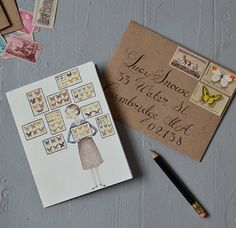 There is something to be said for a handwritten note. Who wouldn't love getting this in the mail... #handwritten