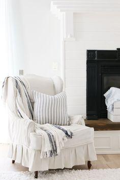 Gorgeous white livin