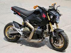 Кастом Honda MSX 125 из Таиланда: громыхающий «Гром»