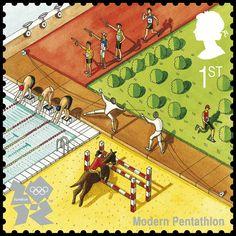 Modern Pentathlon by Katherine Baxter (2nd Series July 27, 2010)