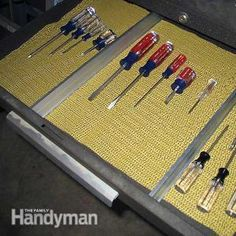 Tips for a Tidy Workshop