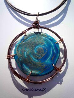 Galaxie bleu turquoise 1