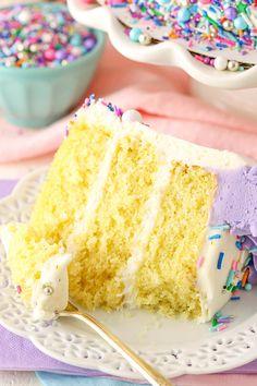 Moist Vanilla Layer Cake