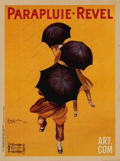 Parapluie-Revel, c.1922 Art Print by Leonetto Cappiello at Art.com