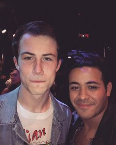 Dylan and Christian after Wallows gig at Slim's SF, 15-7-17