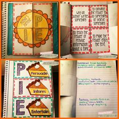 Author's Purpose Interactive Notebook Freebie