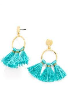 BaubleBar 'Honolulu' Tassel Drop Earrings