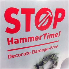 This Command Strip goes all out telling how to Decorate Damage Free For Christmas with a full island, in aisle display. Command Strips, Rabbi, Company Logo, Decoration, Free, Decor, Decorations, Decorating, Dekoration