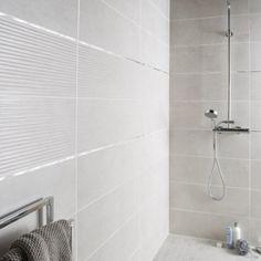 Faïence mur blanc mineral, Live l.24 x L.69 cm Dream Bathrooms, Amazing Bathrooms, Corner Cupboard, Modern Baths, Bathroom Goals, Bathroom Interior Design, Minimalist Home, Modern Decor, Kitchen Decor