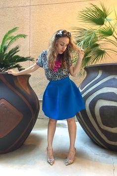 #baublebar #statementnecklace #hm #fullskirt #samedelman #heels #ootd