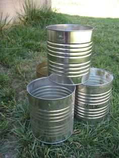 Cans have been around longer than plastic containers and there are so many wonderful uses for them. Here are 101.