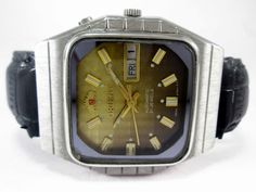 VINTAGE GENTS RICOH AUTOMATIC DAY-DATE 21 JEWELS MENS WRIST WATCH RIC-5 #RICOH…