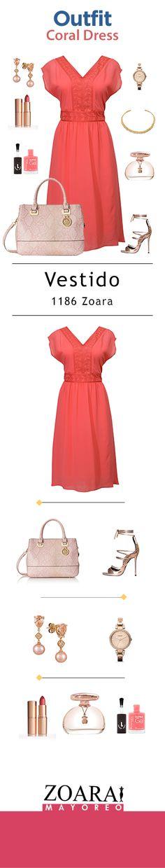 Sácate un diez con esta propuesta Zoara y luce impecable en tu compromiso. #Trendylook #Glamdress #Outfitday