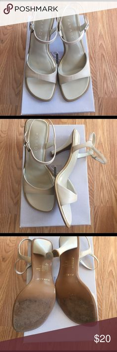 Parade tan heals Parade tan heals worn once size 6.5 perfect essential shoe to have in your wardrobe parade Shoes Heels