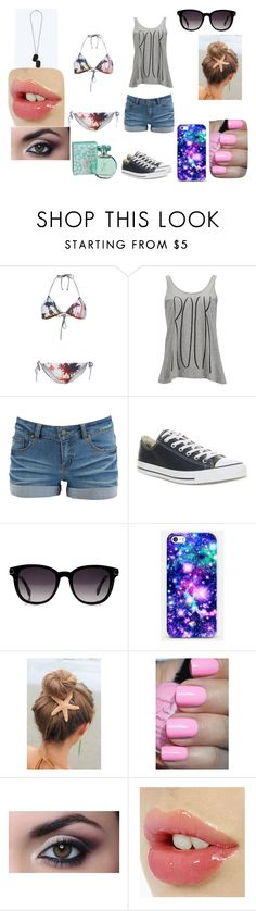 """""""Untitled #121"""" by xxstay-weirdxx ❤ liked on Polyvore featuring TWINTIP, Vero Moda, Pieces, Converse, Fendi, Casetify and maurices"""