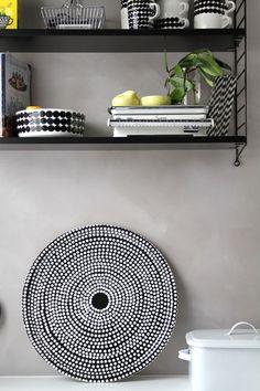 Decorate your home with #Marimekko: collection available on bagalier.com  #bagalier #marimekko #homedecor #living #home #blackandwhite