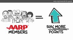 Reward for Good from AARP lets you earn points and redeem them for over 200,000 reards, including gift cards, sweeptstakes, auctions and more. It's free to join! Http://www.aarp.org/rewards-for-good