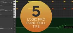 You can do so much more with Logic X's Piano Roll than just drawing in MIDI note events. Darren Burgos shares five of his favorite Piano Roll / MIDI editing tri