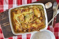 A legjobb rakott cukkini | Street Kitchen French Toast, Pork, Breakfast, Pork Roulade, Breakfast Cafe, Pigs