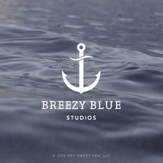 Breezy Blue Studios // Branding + Design by Hey, Sweet Pea