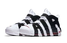 0768906708 More More Uptempos Retro Sneakers