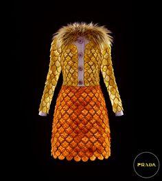 Citrus dress by Prada