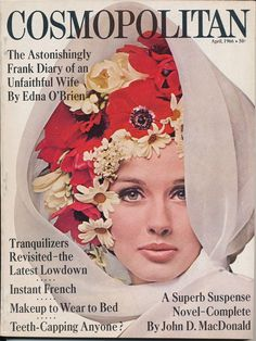 April 1966 cover with Veronica Hamel