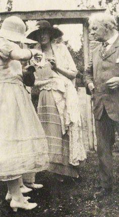 Jerome K. Jerome con Virginia Woolf