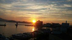 통영(일출) South Korea. Celestial, Sunset, Outdoor, Outdoors, Sunsets, Outdoor Games, The Great Outdoors, The Sunset