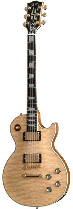 gibson custom 1968 les paul custom 5a quilt top electric guitar #beautifulguitars