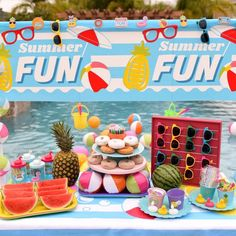 Float Into Summer Pool Party | Fun365 Summer Pool Party, Summer Fun, Water Birthday, Diy Wedding Projects, Classroom Inspiration, Party Planning, Make It Simple, Cool Stuff, Creative