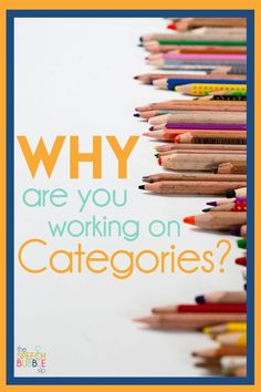 Why are you working on.... categories?? Have you been asked this as a speech therapist? Check out this helpful blog post full of ideas and evidence to support the importance of categories in the language processing hierarchy. #therapy #speech #SPED #language #ELA #classroom #support #services #SpeechBubble #BackToSchool