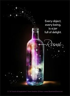 jar of delight -rumi