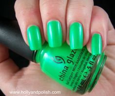 In the Lime Light, China Glaze