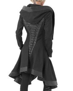 Crocodile Coat by Gelareh Designs Back
