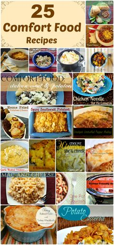 25 Savory Comfort Food Recipes