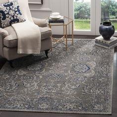 Safavieh Artisan Dark Grey/ Blue Cotton Rug (4' x 6') - 18054087 - Overstock.com Shopping - Great Deals on Safavieh 3x5 - 4x6 Rugs