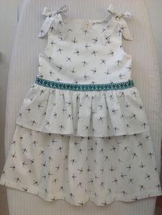 Taille 110 Modèle Ottobre Couture, Summer Dresses, Fashion, Human Height, Dress, Summer Sundresses, Moda, Haute Couture, Sundresses
