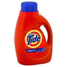 Tide Detergent, 2X Ultra, Original Scent, 50 fl oz (1.56 qt) 1.47 lt - Food & Grocery - Laundry Care - Detergents