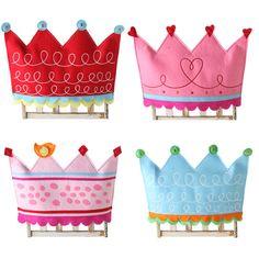 birthday / princess chairbacker -- url doesn't work, but beautiful inspiration