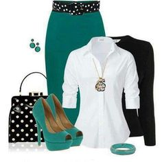 Summer color outfit