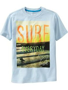 Boys Surf-Graphic Tees