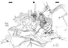 天元突破グレンラガンの原画8 : 【大量】アニメの原画・絵コンテの画像集【50音順】 - NAVER まとめ