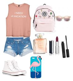 """""""Coll clothes😎😎"""" by maya-khaled ❤ liked on Polyvore featuring beauty, rag & bone/JEAN, Hype, Givenchy and Converse"""
