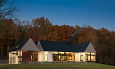 Becherer House in Albemarle County, Virginia, USA by Robert M. Gurney Architect